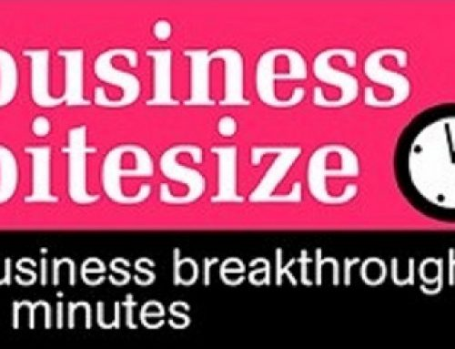 Business Bitesize – apply single minded success to your business